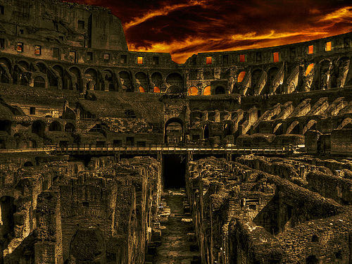Coliseum by J. Salmoral