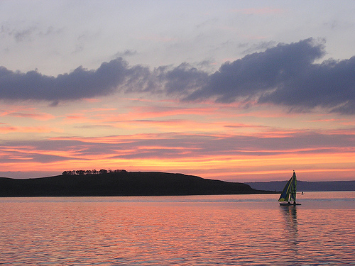Cumbrae at Sunset by Taylor Dundee